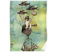 Flotilla - Amelie and Flying Fish Poster