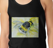Bumble bee walk by Liz H Lovell Tank Top