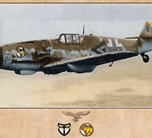 Messerschmitt Bf 109G-6/R6 by A. Hermann
