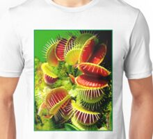 """VENUS FLY TRAP"" Flowered Poster Print Unisex T-Shirt"