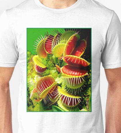 """VENUS FLY TRAP"" Flowered Poster Print Unisex T-Shirt"