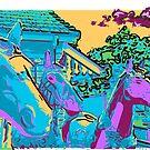 horses of colours by Mark Malinowski