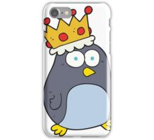 cartoon emperor penguin iPhone Case/Skin