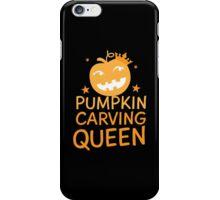 PUMPKIN CARVING QUEEN!  iPhone Case/Skin