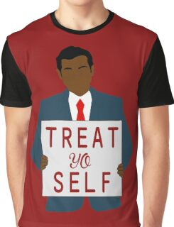 Treat Yo Self Graphic T-Shirt
