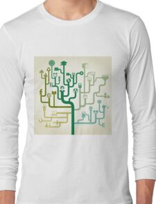 Science abstraction Long Sleeve T-Shirt