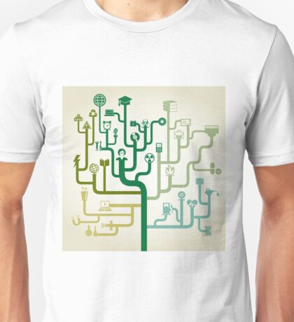 Science abstraction Unisex T-Shirt