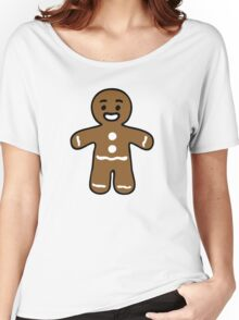gingerbread man biscuit Women's Relaxed Fit T-Shirt