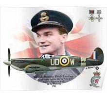 Wg Cdr Brendan 'Paddy' Finucane Poster