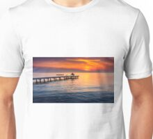 Romantic sunset on lake Neusiedl Unisex T-Shirt