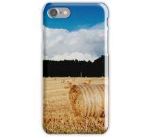 open landscape, Fife, Scotland iPhone Case/Skin