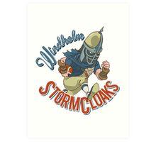 Windhelm Stormcloaks Sportsball Team Art Print