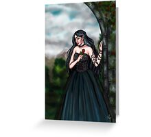 Gothic Elf Greeting Card