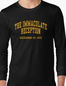 The Immaculate Reception Long Sleeve T-Shirt