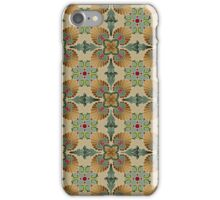 Majolica or Portugal tiles pattern iPhone Case/Skin