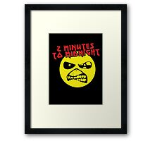 2 Minutes to Midnight Framed Print