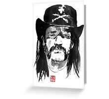 lemmy kilmister Greeting Card