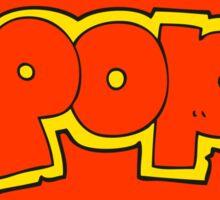 cartoon POP symbol Sticker