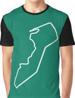 Guia Circuit [outline] Graphic T-Shirt