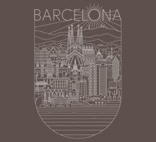 Barcelona One Piece - Short Sleeve