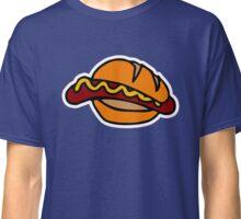 hot-dog hotdog hamburger Classic T-Shirt