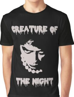 Rocky Horror Picture Show - Creature of the Night Graphic T-Shirt