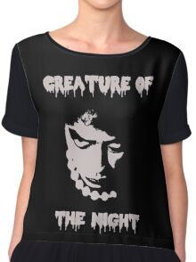 Rocky Horror Picture Show - Creature of the Night Chiffon Top