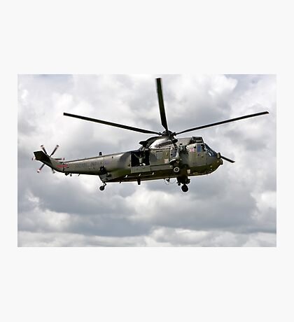 Royal Navy Westland Sea King Mk4 Photographic Print