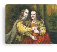 Nicolas Cage, Rembrandt Painting, Mix Tape Canvas Print