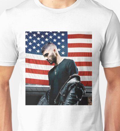 ZAYN MALIK - BOOK US Flag Unisex T-Shirt