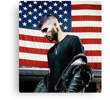 ZAYN MALIK - BOOK US Flag Canvas Print