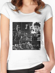 ZAYN MALIK - Instagram Feed Women's Fitted Scoop T-Shirt
