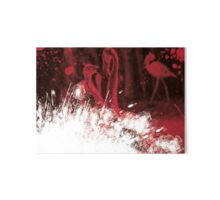 Colors #2 - red flamingos Gallery Board