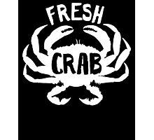Fresh Crab all day design Photographic Print