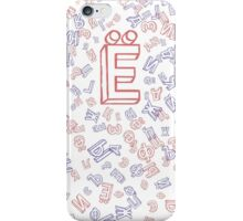 Cyrillic difference  iPhone Case/Skin