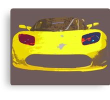 Tesla Pop Art Canvas Print