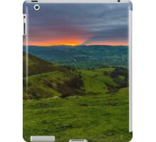 Last rays of the day iPad Case/Skin