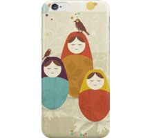 Matriochka iPhone Case/Skin