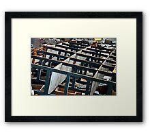 COLUMBIA_ATHENS_GREECE_2009 41 Framed Print
