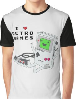 GBMO, The Retrogames Lover Graphic T-Shirt