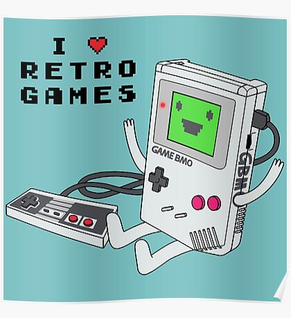 GBMO, The Retrogames Lover Poster