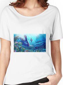Poke Marine Biology Women's Relaxed Fit T-Shirt