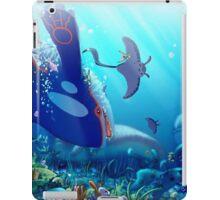 Poke Marine Biology iPad Case/Skin
