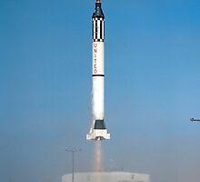 Mercury-Redstone 2 Launch by Jacob Thomas