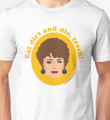 Blanche Devereaux from The Golden Girls Unisex T-Shirt