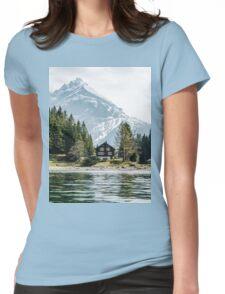Swizz Cabin Womens Fitted T-Shirt