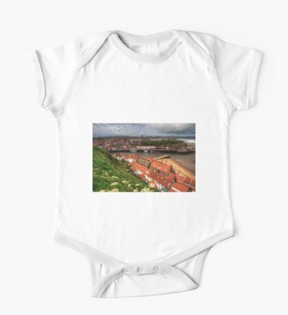 Whitby from the East Cliff One Piece - Short Sleeve