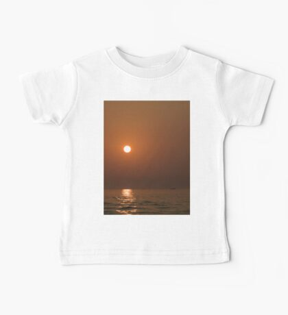 Sunset At Sea Baby Tee