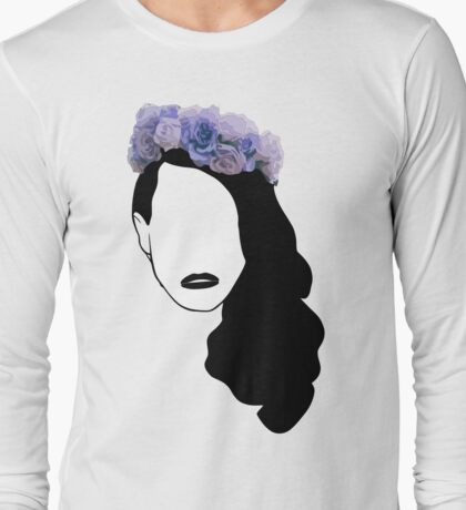 Lana Del Rey - Simplistic - Lips Long Sleeve T-Shirt