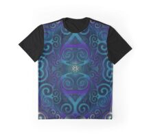 PSY TRI blue  by Conor Graham Graphic T-Shirt